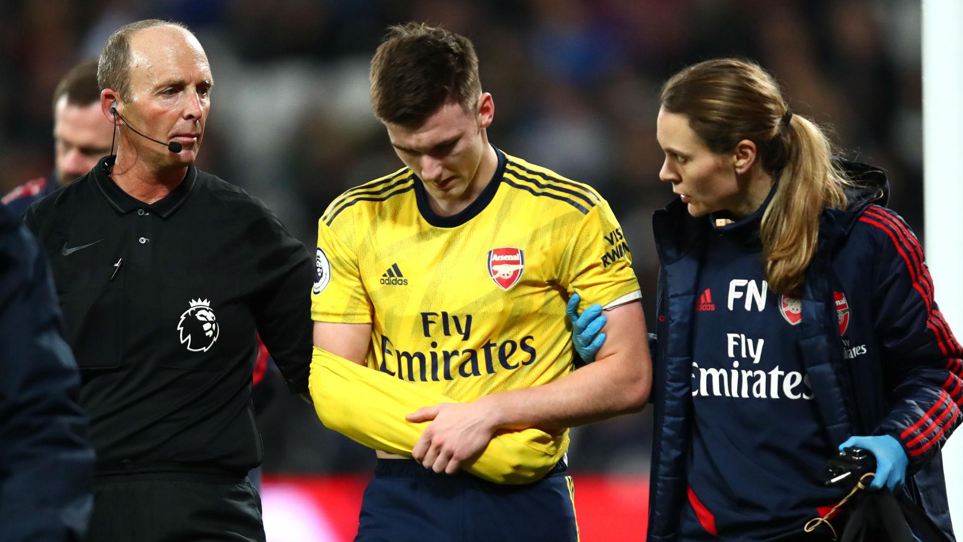Tierney Arsenal injury