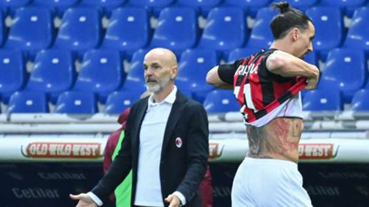 Milan boss Pioli says Ibrahimovic denies insulting referee after exclusion in Serie A clash with Parma