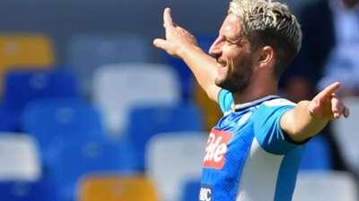 Mertens Napoli Brescia Serie A