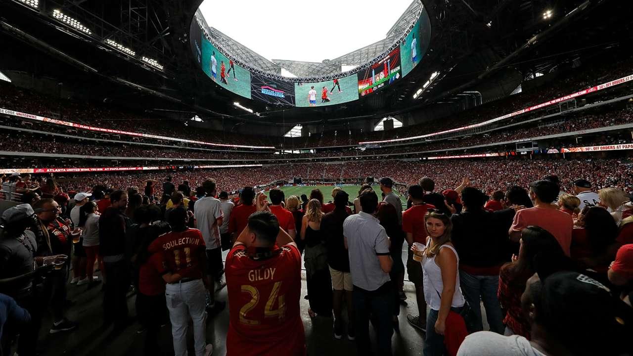 Atlanta United Mercedes-Benz Stadium 2017