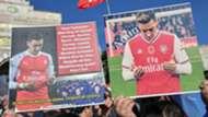 Mesut Ozil, Uighur Muslim protest