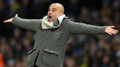 Pep Guardiola Manchester City Schalke 120319