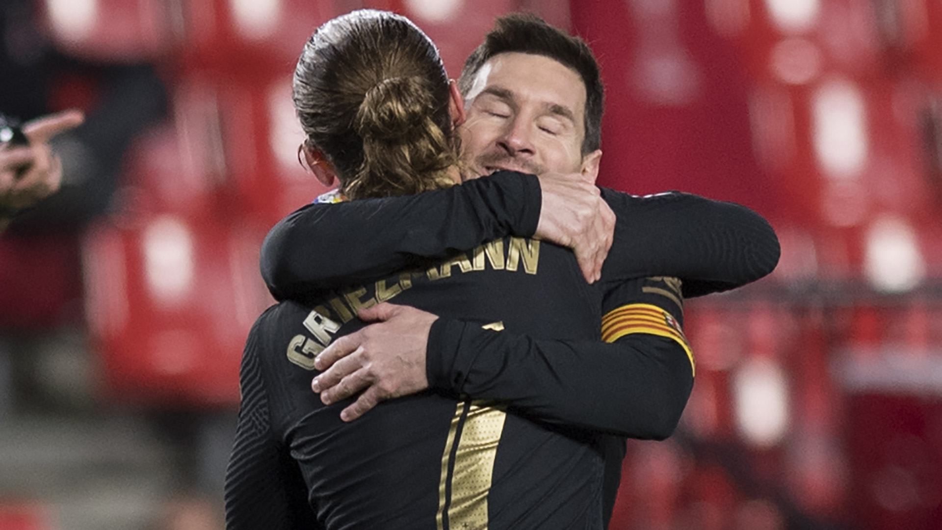 Griezmann hoping to see more magic from 'legend' Messi as Barcelona exit talk rumbles on