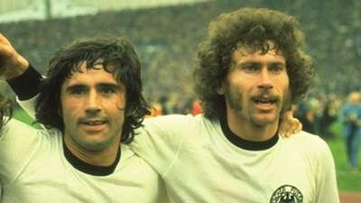 Gerd Müller Paul Breitner West Germany 1974 World Cup 07071974