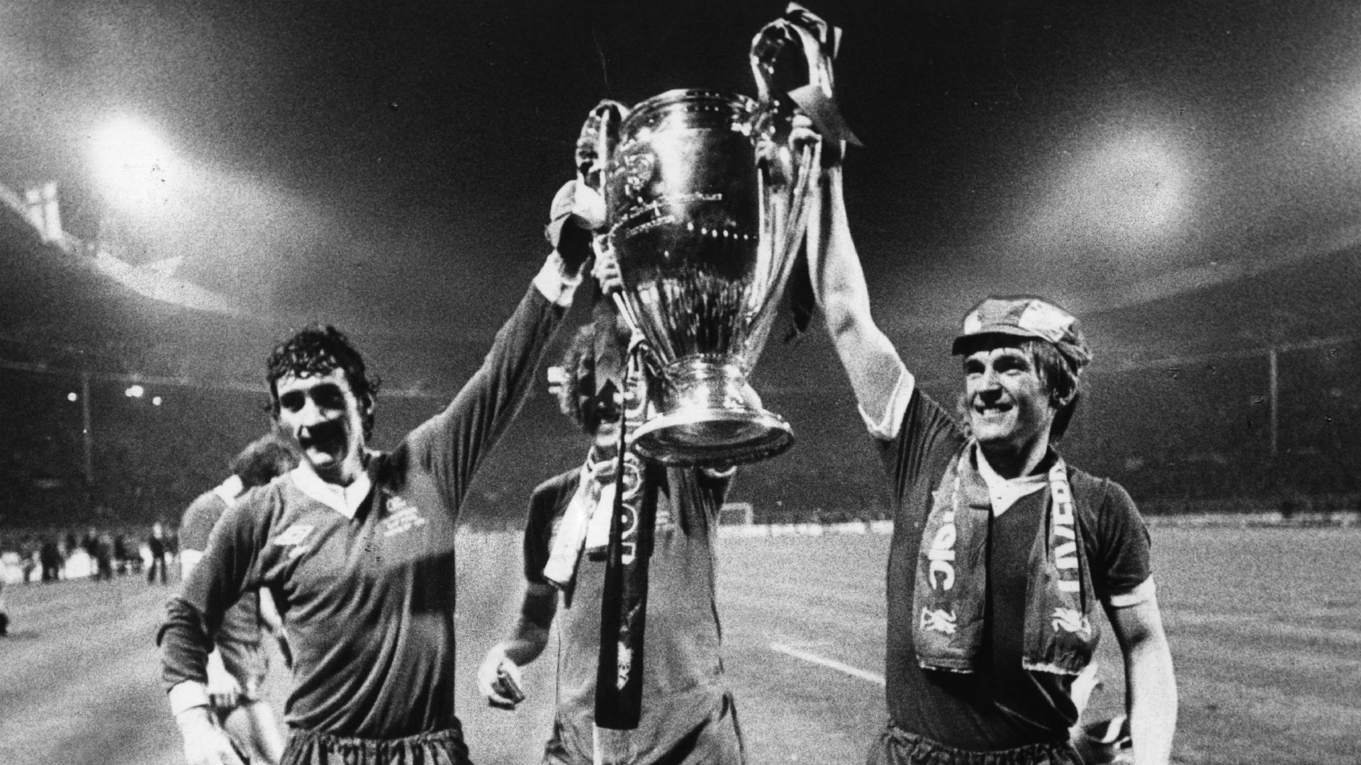 Terry McDermott Kenny Dalglish Liverpool European Cup 1978