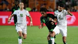 Alex Iwobi, Riyad Mahrez, Feghouli - Algeria vs Nigeria
