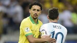 Marquinhos Lionel Messi Brazil Argentina Copa America 2019