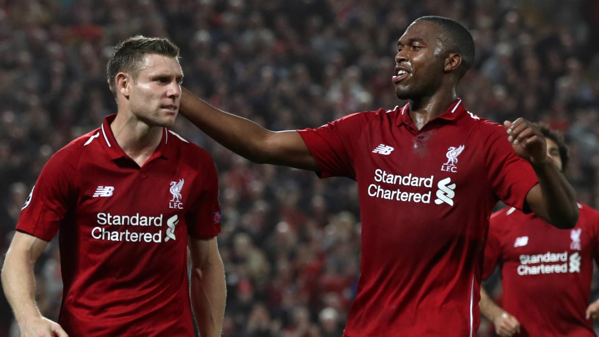 James Milner Daniel Sturridge Liverpool 2018-19