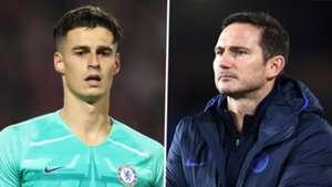 Kepa Arrizabalaga Frank Lampard Chelsea 2019