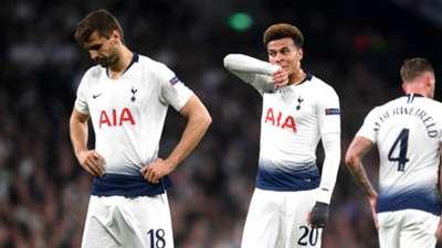 Fernando Llorente Dele Alli Tottenham 2018-19