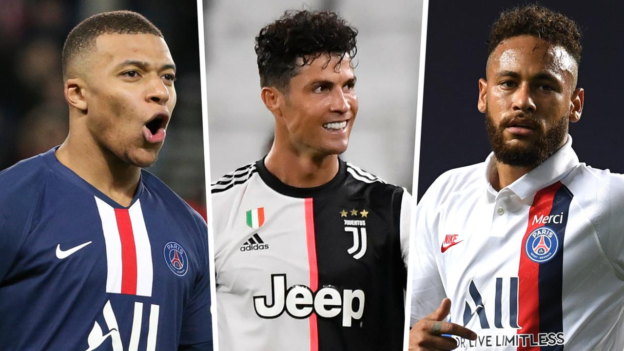 Ronaldo Mbappe Neymar FIFA 21