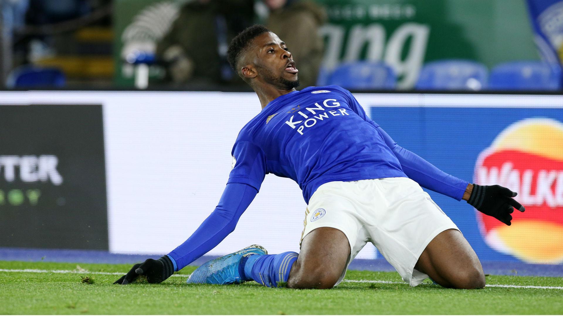 Watch Iheanacho fire Leicester City past Brentford