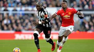 Paul Pogba Mohamed Diame Newcastle United Manchester United