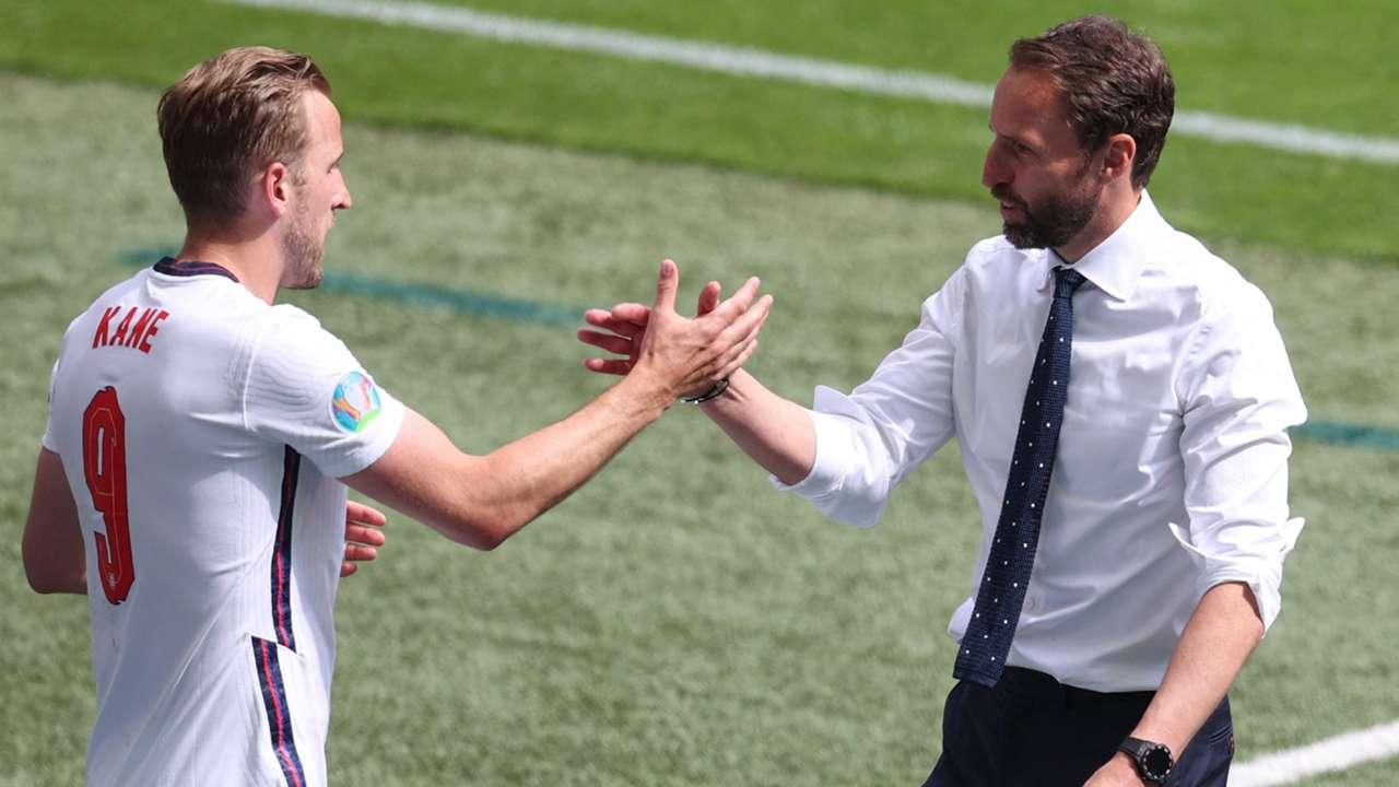 Harry Kane Gareth Southgate England vs Croatia Euro 2020