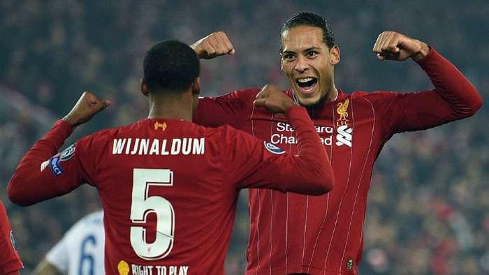 Virgil Van Dijk Georginio Wijnaldum Liverpool 2019-20