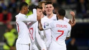 Kosovo v England Goal Celebration 11172019