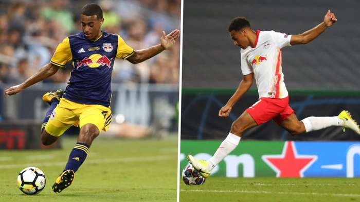 Tyler Adams RB Leipzig New York Red Bulls GFX