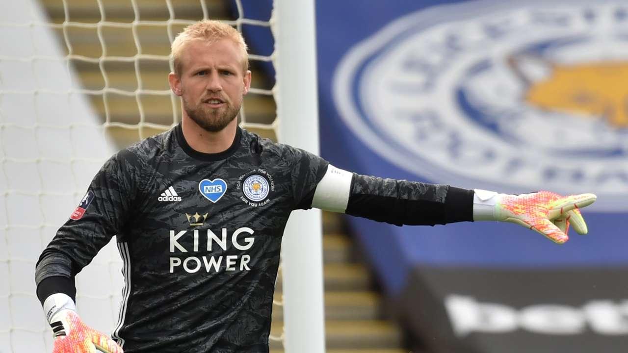 Kasper Schmeichel Leicester City 2019-20