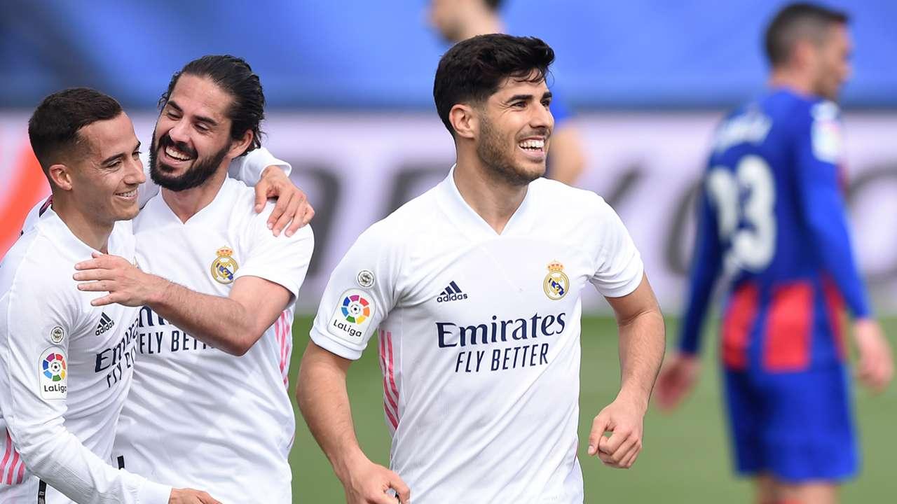 Marco Asensio Real Madrid Eibar La Liga 2020-21