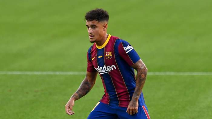Philippe Coutinho Barcelona 2020-21