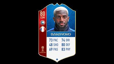 FIFA 18 World Cup France Bakayoko