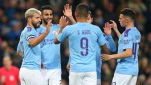 Manchester City v Southampton Goal Celebration 10292019
