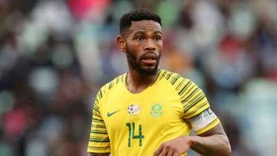 Thulani Hlatshwayo Bafana Bafana v Libya, September 2018