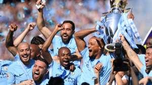 Manchester City Premier League title 2017-18