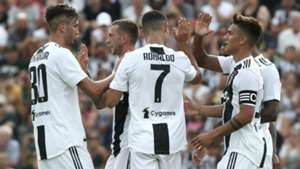 Juventus celebrating