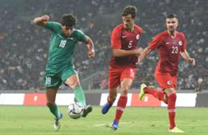 World cup qualifer, Hong Kong lost 0:2 to Iraq.