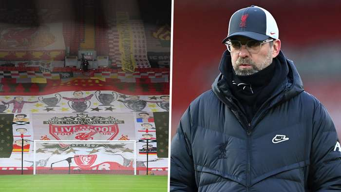 Anfield Jurgen Klopp Liverpool 2020-21