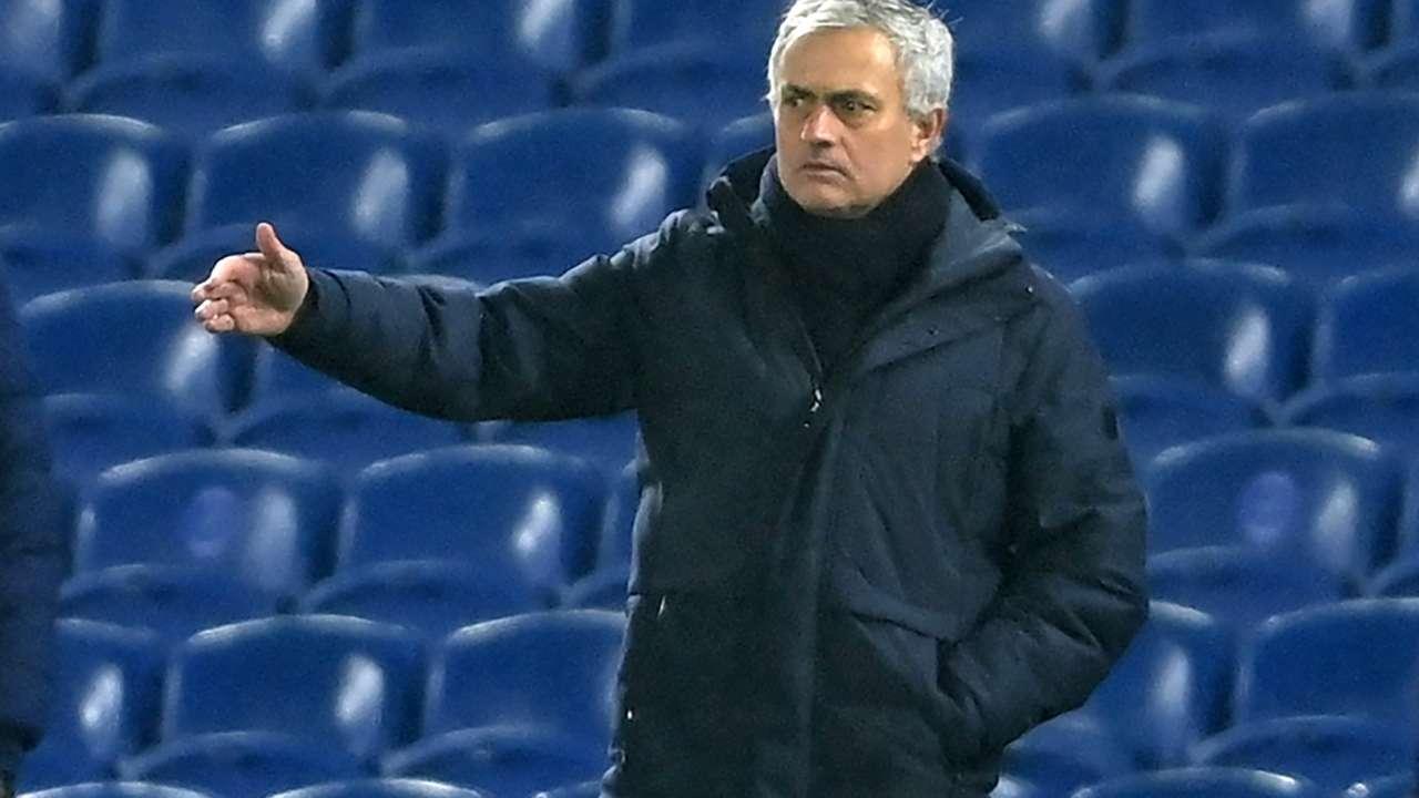Jose Mourinho Tottenham 2021