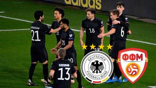 Deutschland vs. Nordmazedonien: TV, LIVE-STREAM ...