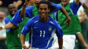 Ronaldinho Brasil Seleção Copa do Mundo 2002