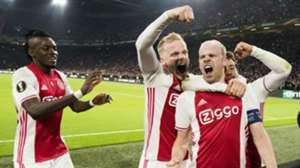 Davy Klaassen, Bertrand Traoré, Ajax - Schalke 04, 13042017