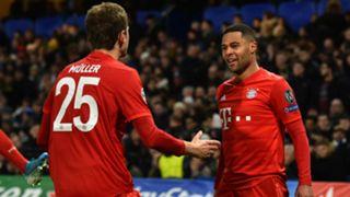 Thomas Muller Serge Gnabry Bayern Munich 2019-20