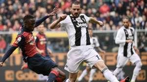 Cristian Kouamè Leonardo Bonucci Genoa Juventus