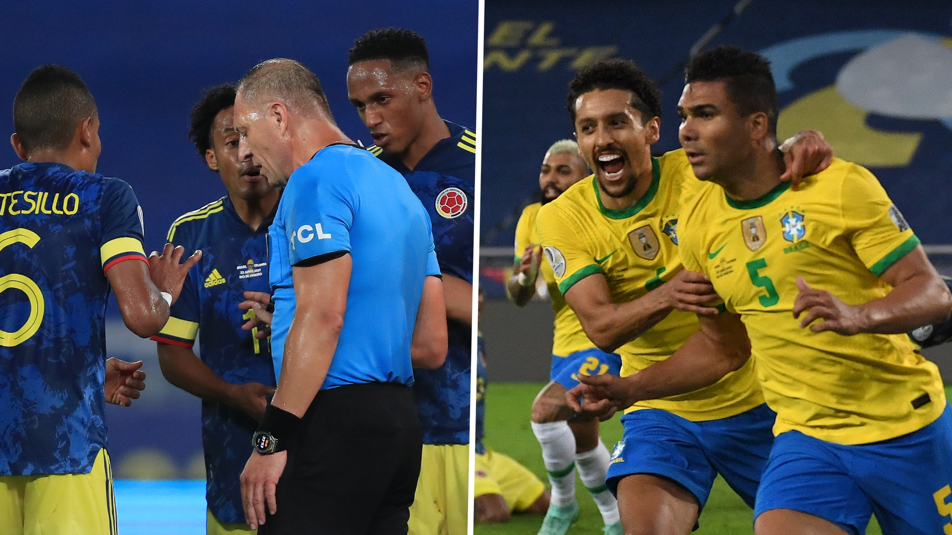 'Absolutely unfair' - Colombia defeated after controversial Copa America ending vs Brazil