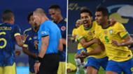 Colombia Brazil Copa GFX