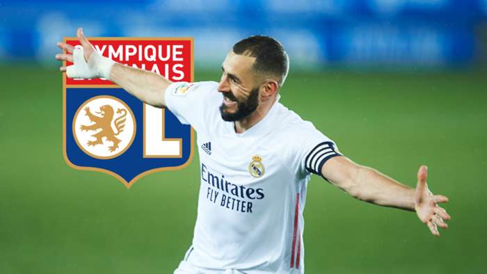 Karim Benzema Lyon Real Madrid GFX