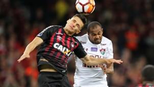 Raphael Veiga Ayrton Atlético-PR Fluminense Copa Sudamericana 07112018
