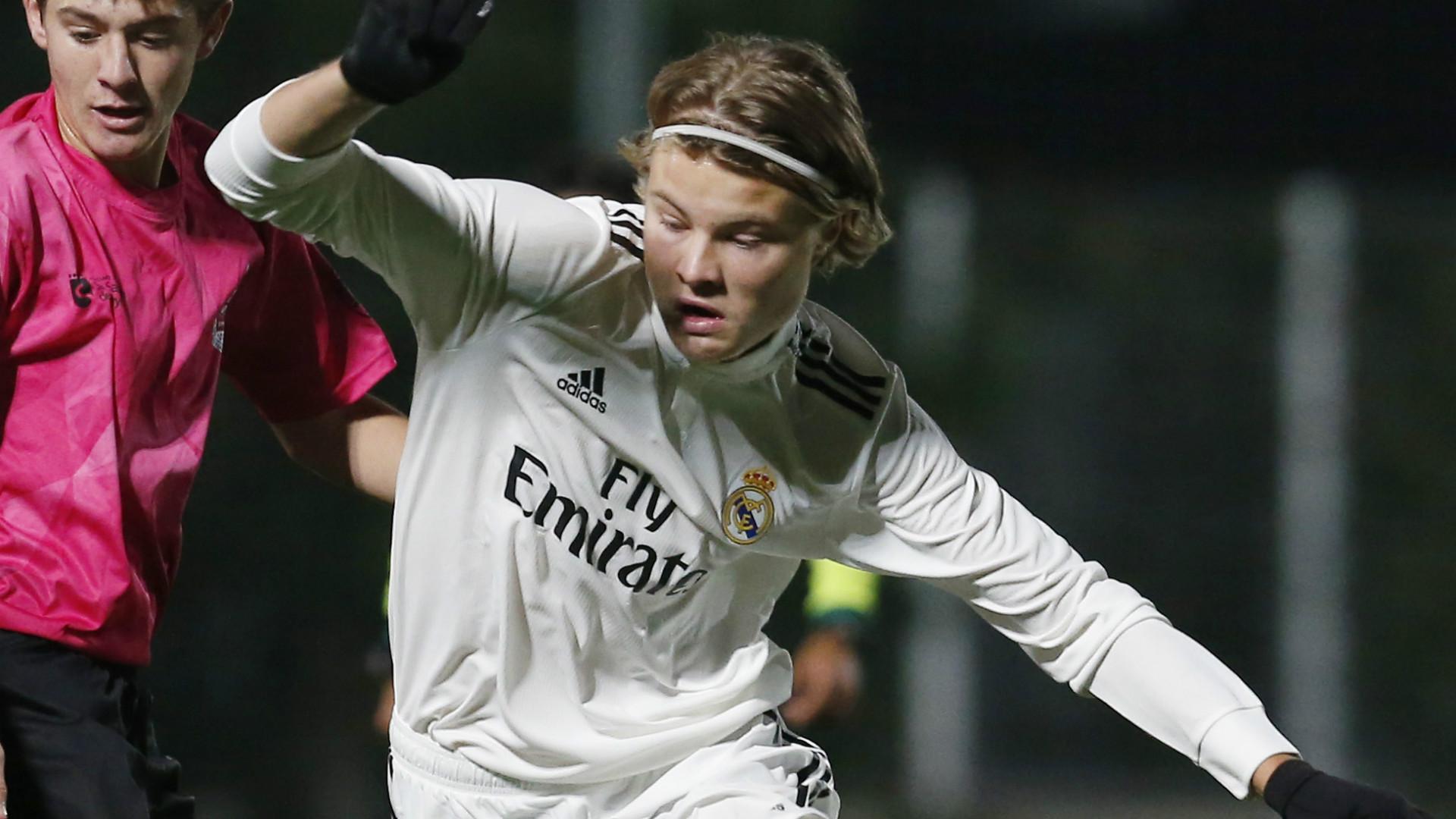 Andri Gudjohnsen Real Madrid