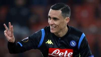 Jose Callejon Napoli 2018-19