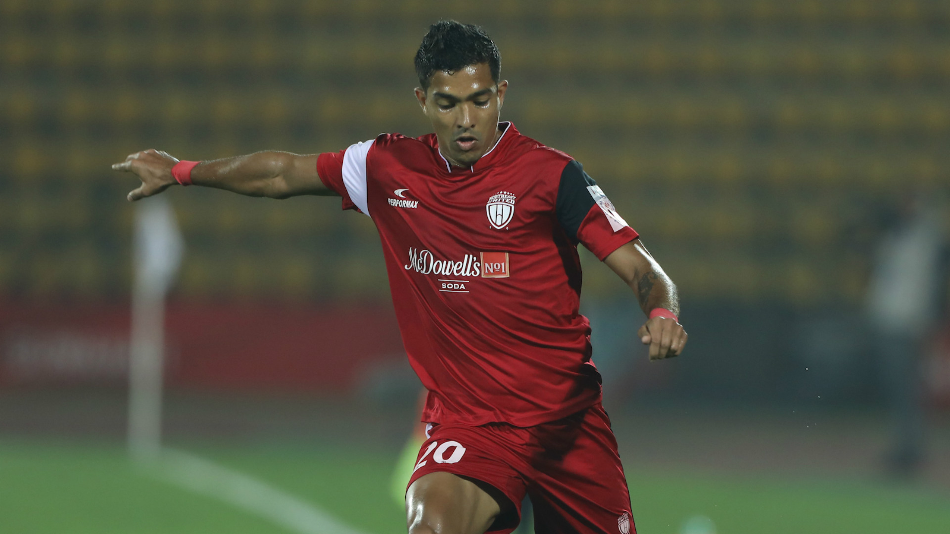 Keegan Pereira NorthEast United ISL 55