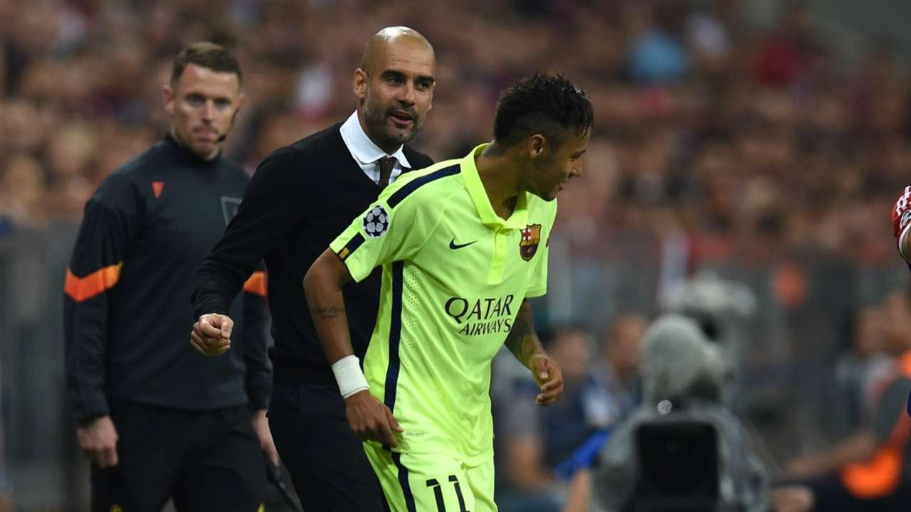 Pep Guardiola Neymar