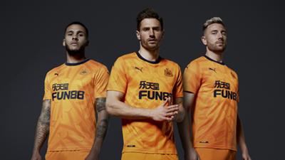 Newcastle third kit 2019-20