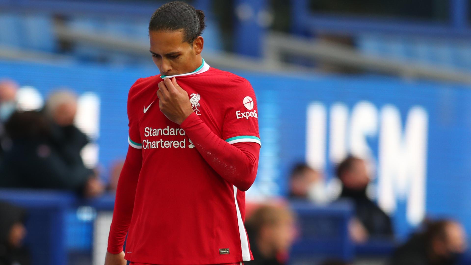 Klopp says Van Dijk injury 'not good' as Liverpool dealt derby blows by  Pickford and VAR