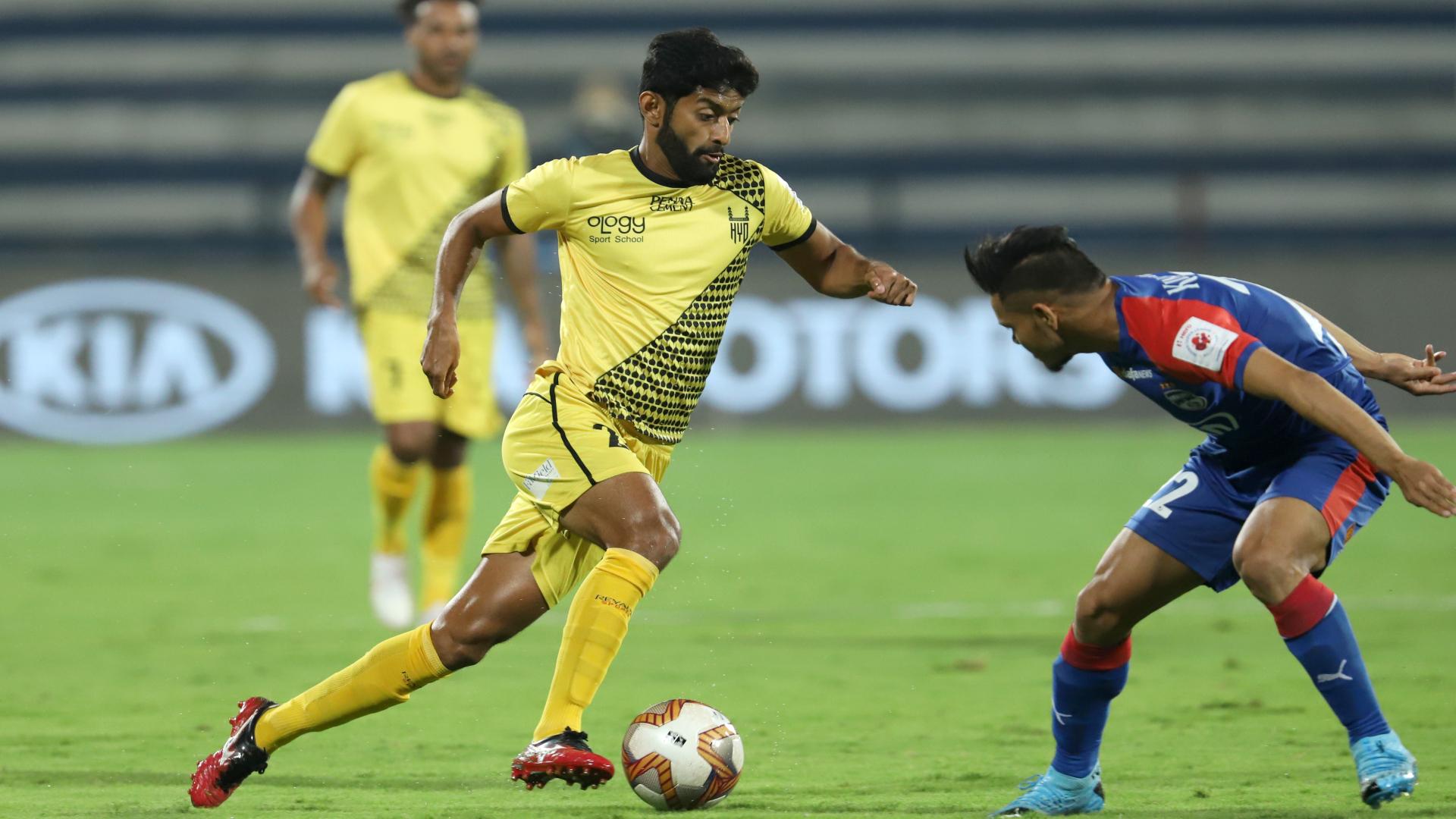 Nikhil Poojary v Bengaluru FC