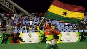 Ghana fan at WAFU