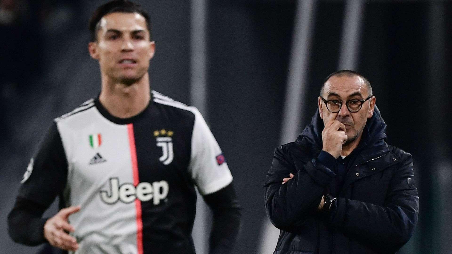 Maurizio Sarri Cristiano Ronaldo Juventus Atletico Madrid